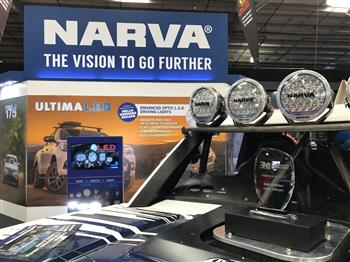 Narva Takes Best Stand Award at National 4x4 Show with VR Experience and all New L.E.D Driving Lamps