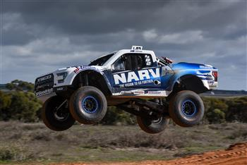 Maghers Backyard Blitz in the Narva Racing TSCO Truck