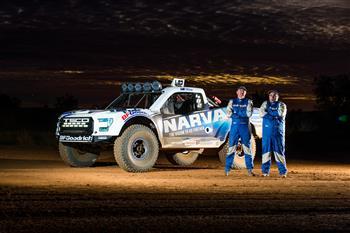 Narva Lights Up TSCO Trophy Truck Debut