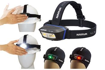 New multi-colour ALS Head Torch from Narva has multiple applications