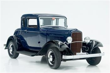 1932 Ford Model B 5-window coupe