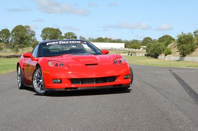 Fastest-Ever Chev Corvette Blasts Into Perth's Easter Corvette Fest