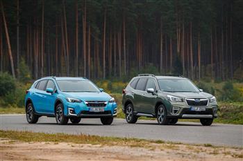2020 Subaru XV Hybrid  & Forester Hybrid