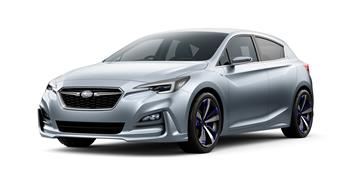 Impreza concept points to future Subaru Design