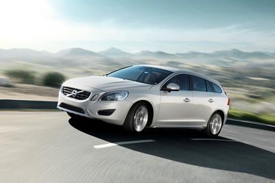 The new 2010 Volvo V60
