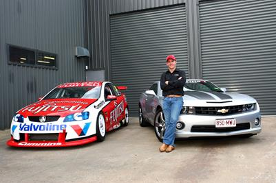 "V8 Driver Lee Holdsworth Back With A ""Silver Bullet"""