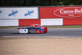 Brisbane-based Team Arrow's solar car