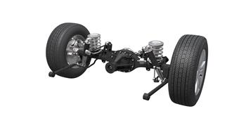 Suspension system keeps HAVAL H8 on the level