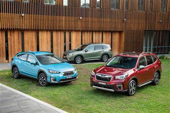 2020 Subaru Hybrid group
