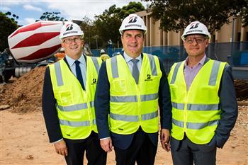 Construction begins on new Bridgestone corporate head office in Adelaide