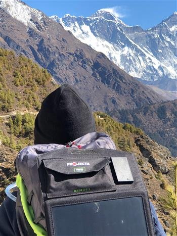 Projecta takes portable solar  charger to new heights