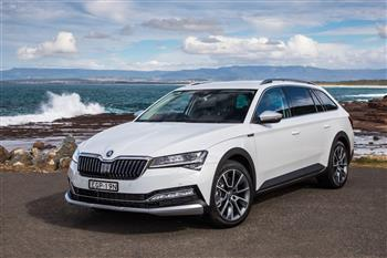 2020 ŠKODA Superb Scout
