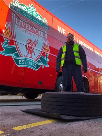 Falken Truck Tyres Easy Fit for Liverpool FC