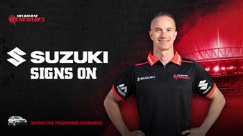Suzuki Australia Signs On With The Melbourne Renegades