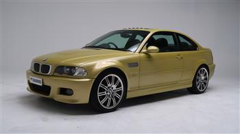 2002 BMW E46 M3 Coupe