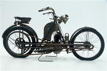 c1906 Zenith Bi-Car motorcycle