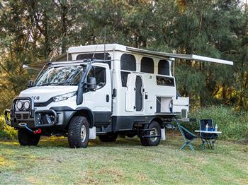 Iveco Daily 4x4-based Expedition Earthcruiser EXP