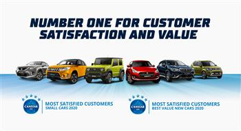 Suzuki Australia – No. 1 For Customer Satisfaction And No.1 For Best Value