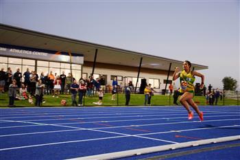 Track to the future – Bridgestone Athletics Centre opens on former Bridgestone factory site