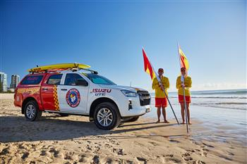 Isuzu UTE Australia Partners With Surf Life Saving Australia