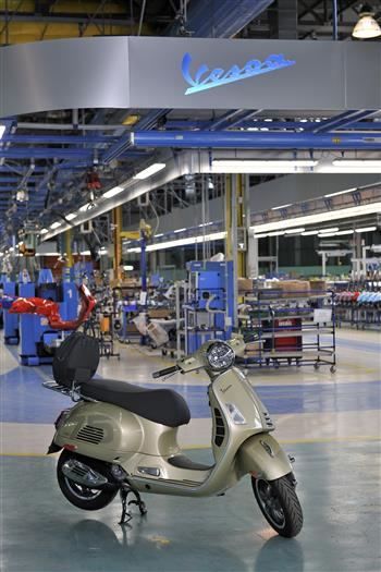 As It Celebrates Its 75th Birthday, Vespa Surpasses The Milestone Of 19 Million Units Produced, Including Almost Two Million In The Last Decade.