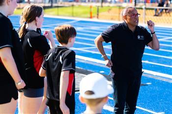 Team Bridgestone Australia Ambassador Cathy Freeman Inspires the Next Generation at Bridgestone Athletics Centre