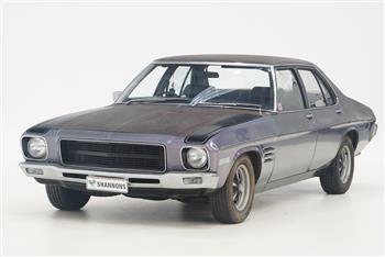1972 HQ SS Holden sedan