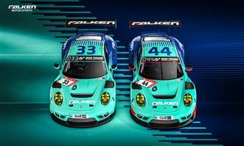 Double trouble: Falken Contests Nürburgring with Porsche Pairing