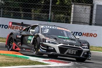 First DTM victory of the Audi R8 LMS