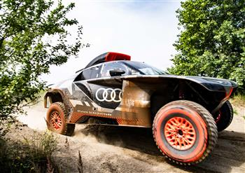 Audi RS Q e-tron: Test laboratory for possible future technologies at the Dakar Rally
