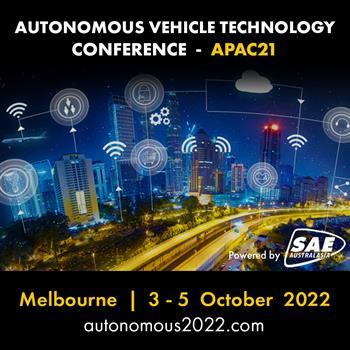 Autonomous Vehicle Technology Conference APAC 21