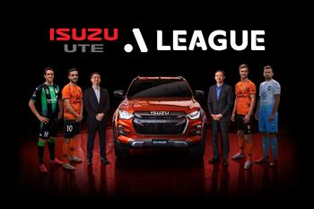 Isuzu UTE Named As First-Ever Naming Rights Partner For The A-Leagues' Men's Competition