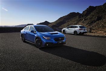 2022 Subaru WRX Sedan and Sportswagon (overseas models shown)