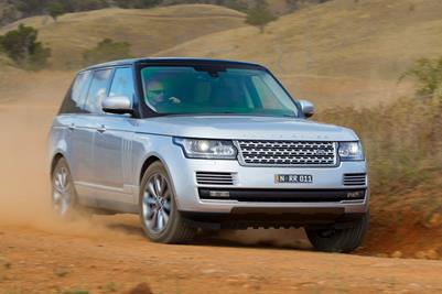 All New 2013 Range Rover TDV6 Vogue