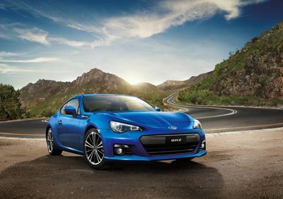 Subaru Tweaks BRZ For 2015