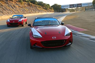 In Search of the Perfect 2016 Mazda MX-5 Cup Car