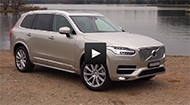 B-roll footage of the Volvo XC90.