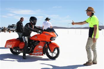 Harley-Davidson cracks pepper on salt racing plan