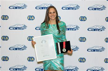 Molly Taylor Wins Peter Brock Medal