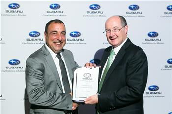 EASTERN SUBARU IS RETAILER OF THE YEAR