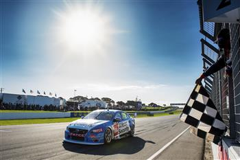 Scott McLaughlin Claims V8 Clean Sweep at Phillip Island in Super-Fast Volvo S60