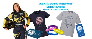 Subaru do Motorsport Merchandise Available Now