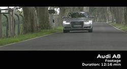 2014 Audi A8.