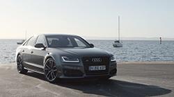 2016 Audi S8 plus b-roll.
