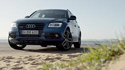 2016 Audi SQ5 TDI plus, 3.0 TDI Biturbo V6, b-roll.