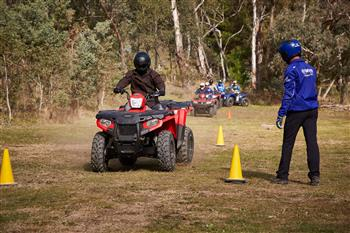 Yamaha offers safety to all Expanded and improved ATV and SSV training announced