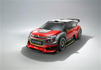 Citroen C3 WRC Concept At Paris International Motor Show