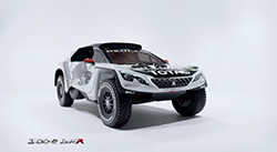The all-new Dakar challenger is based on an entirely new model of Peugeot SUV, to be revealed at the Paris Motor Show next month, following eight months of intensive work in Velizy, France, since the Dakar finish ramp in Rosario...