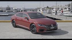 2017 Volkswagen Arteon B-Roll footage.