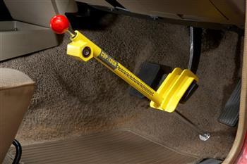 Australian Anti-Theft Car Lock Foils Car Thieves
